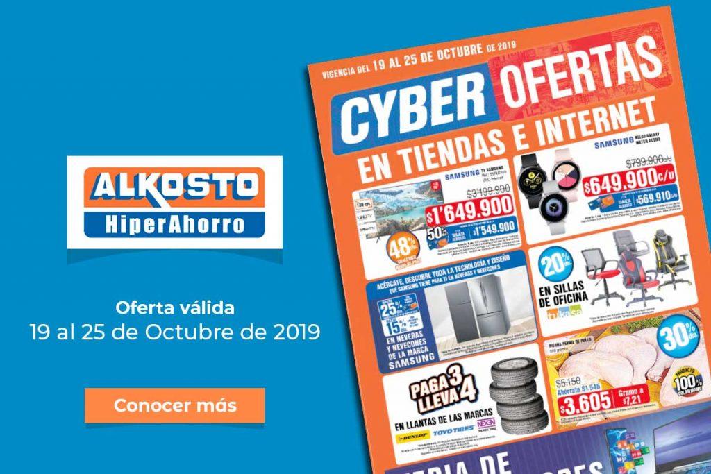Ofertas Alkosto: 19 al 25 de Octubre de 2019